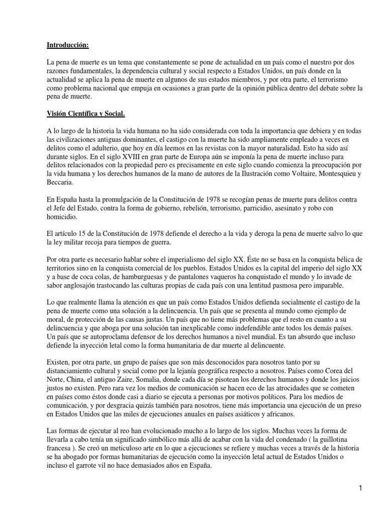 Top 10 Punto Medio Noticias Argumentos A Favor De La Pena De
