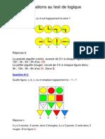 961911explications Au Test de Logique PDF