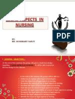 legal aspects in nursing