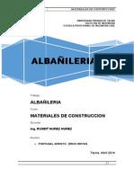 Albañileria Word
