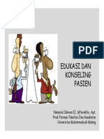 Edukasi Dan Konseling Pasien
