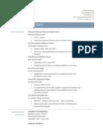 fact sheet for e-portfolio