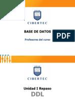 Unidad 01 - Tema 06 Tabla de Datos - Restricciones