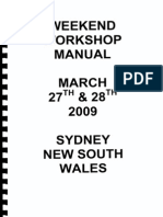 Workshop Manual April 2009