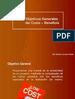 2.2.- Objetivos Generales Del Costo - Beneficio
