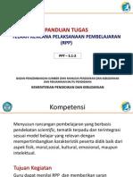3.1.2 Panduan Tugas Telaah RPP