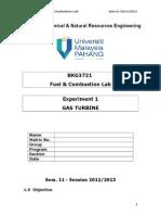 01- Gas Turbine