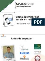 EMail Marketing en Mobiles