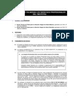 Resumen de Obervaciones a Las Normas Tecnicas