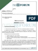 Turma Regular Intensiva 2013.1 (Presencial) Manhã - Direito Empresarial - Aula 04 28.02.13