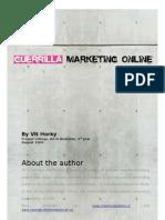 Guerrilla Marketing Online