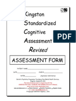 KSCAr Assessment Form