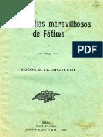 Os Episodios Maravilhosos de Fatima pelo Visconde de Montelo