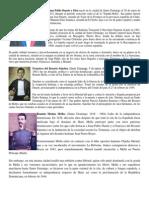Padres de La Patria Biografia Corta 2014