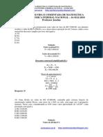 Prova Resolvida Caixa Economica Federal Técnico Bancário Resolvida Nacional