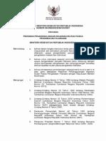 KMK No. 893 Ttg Pedoman Penanggulangan Kejadian Ikutan Pasca Pengobatan Filariasis