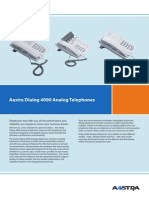 Aastra Dialog 4000 Analog Telephones