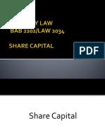 9. Share Capital(2)