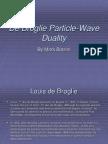 DeBroglie Wavelengths