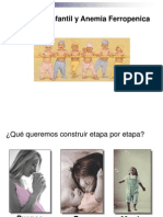 Nutricion Infantil y Anemia Ferropenica
