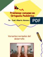 Problemas Comunes en Ortopedia Pediatrica