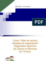 CANCER 0 a 18 AÑOS