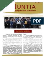 NUNTIA - Mars 2014 (Français)