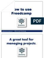How to Use Freedcamp