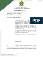 PARECER MPF - IR TERÇO DE FÉRIAS