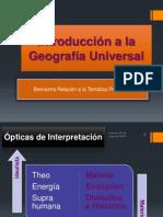 Introducción a La Geografía Universal