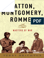 Patton, Montgomery, Rommel, by Terry Brighton - Excerpt