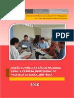 DCBN Educacion Fisica 2010