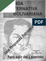 Agenda Alternativa Bolivariana - Hugo Chávez Frías