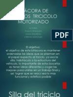 Bitácora de Bocetos Tricicolo Motorizado(Editable)