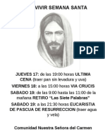 Ven a Vivir Semana Santa