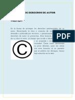 Licencias de Derechos de Autor