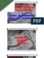Projeto tunel Santos-Guaruja