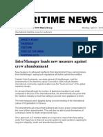 Maritime News 21 Apr 14