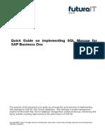 SQL Manage for SAP B1