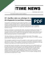 Maritime News 23 Apr 14