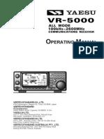 VR 5000 Operating Manual