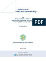 Handbook on Financial Accountability