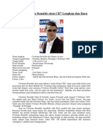 Biodata Cristiano Ronaldo Atau CR7 Lengkap Dan Baru