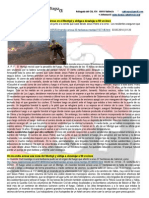 Incendio Forestal a Dénia 02-05-2014