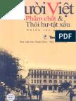 Người Việt. Phẩm Chất Và Thói Hư Tật Xấu