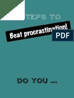 Beat It! Procrastination