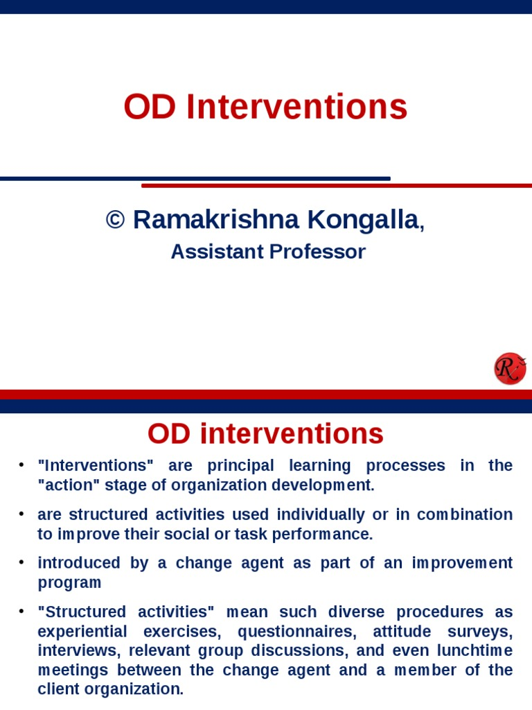 individual interventions in od
