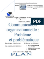 58683984comminication Organisationnelle Probleme Et Problematique Doc