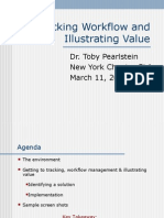 Tracking Workflow and Illustrating Value