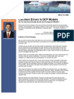 Common Errors in DCF Models - Michael Mauboussin (Legg Mason Capital Management)